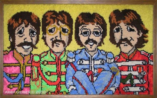 Beatles Rug Home Decor