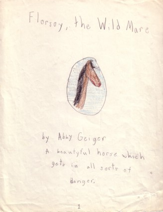 Florsoy, the Wild Mare title page