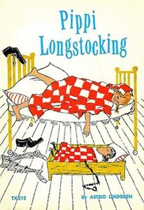 Pippi Longstocking book cover